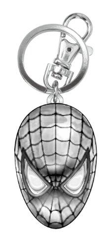 - Marvel Spider-Man Head Pewter Key Ring