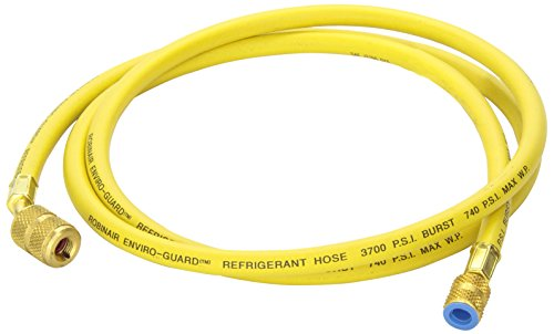 Robinair (68172A) Enviro-Guard Hose with 45° Quick Seal Fittings - 72