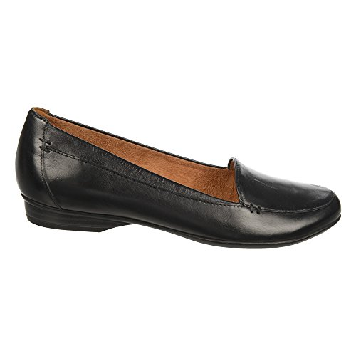 Naturalizer Kvinners Saban Slip-on Dagdriver Sort Skinn ...