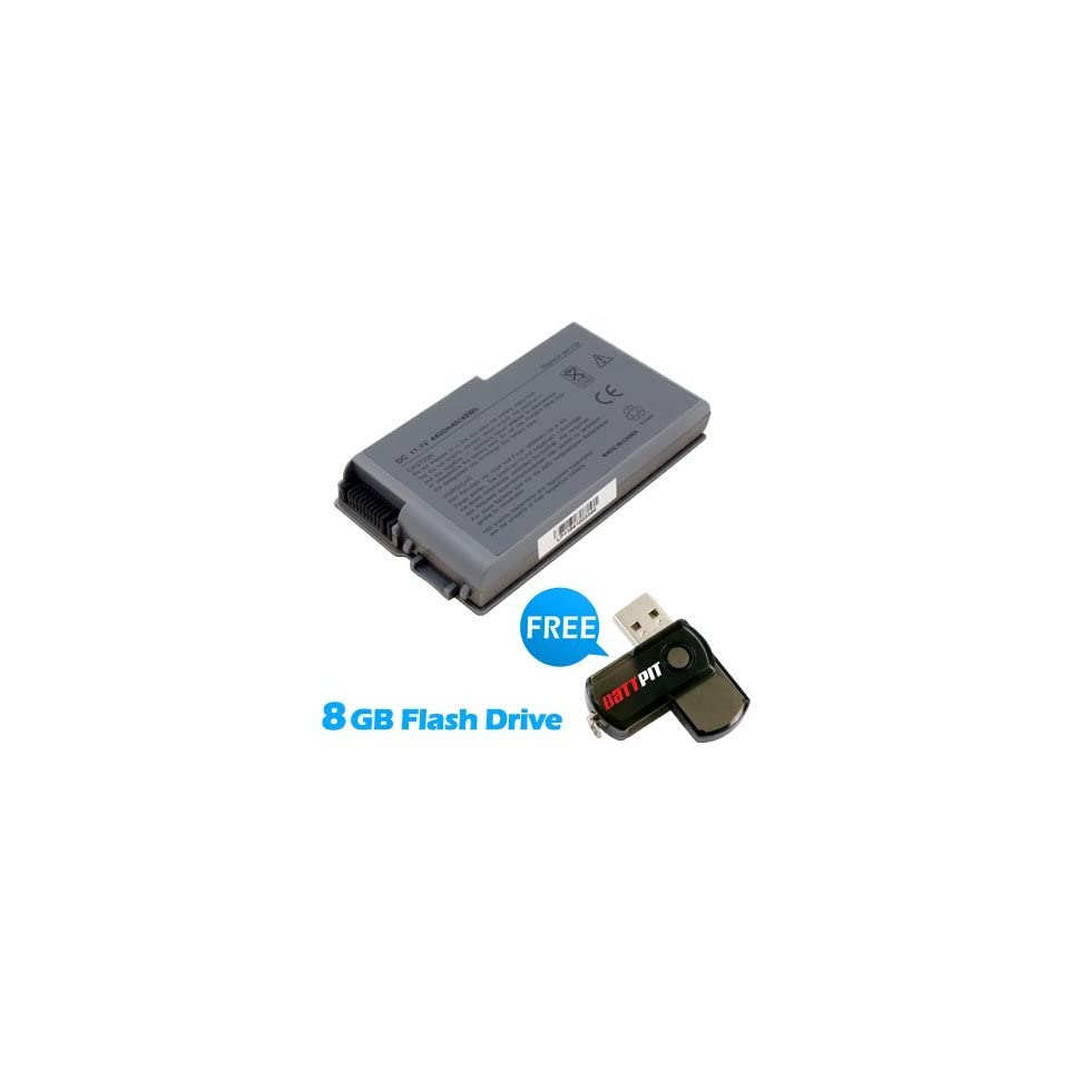 Battpit™ Laptop / Notebook Battery Replacement for Dell 1X793A00 (4400mAh / 49Wh) with FREE 8GB Battpit™ USB Flash Drive