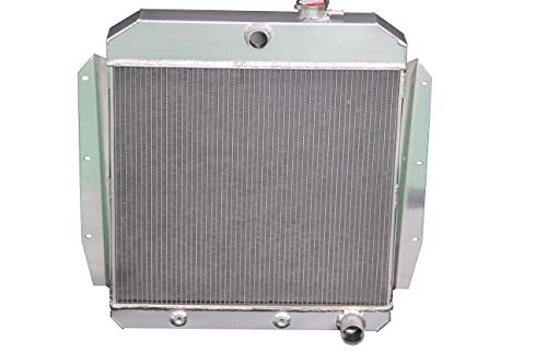 (ZC5559 New 3 Rows All Aluminum Radiator Fit 1955-1959 GMC 100/150 All)