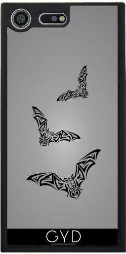 Funda Silicona para Sony Xperia XZ Premium - Tribus Murciélago Negro Para Hombre Gris by Nina Baydur
