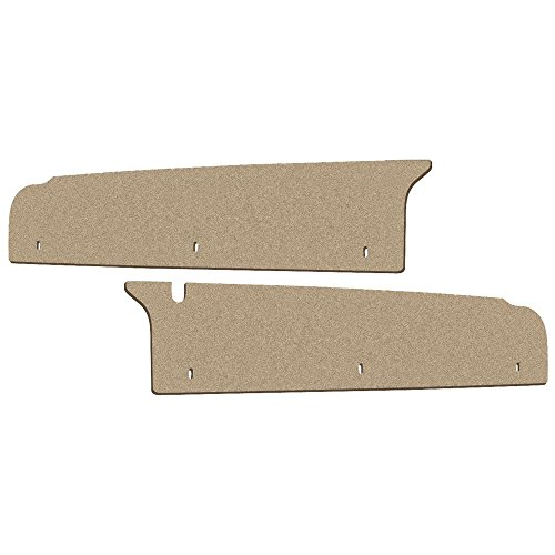 New 1966-67 Mercury Comet Cyclone Caliente LH RH Side Extension Trunk Filler Boards (F158)