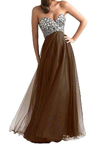 Brown Evening Gowns - 7