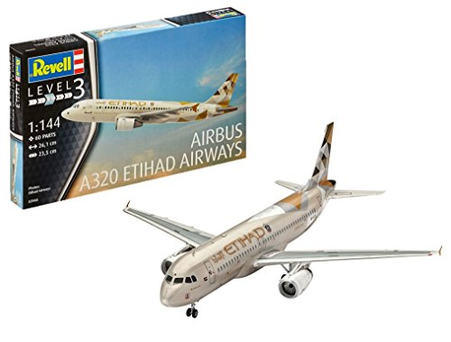 (Revell 03968 Airbus A320 Etihad Airways Model Kit)
