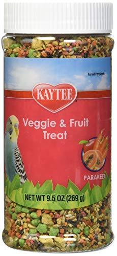 Kaytee Parakeet Gourmet Fruit/Vegetable 9oz - Fruit Vegetable Treat