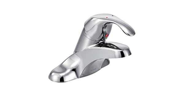 0.5-gpm Chrome Moen 8439F05 Commercial M-Bition 4-Inch Centerser Lavatory Faucet with 3-Inch Lever Handle