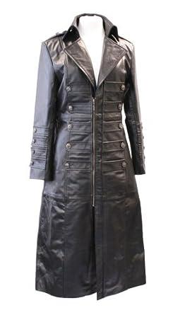 Ladies Black 100% Genuine Real Leather Jacket Womens Military ...