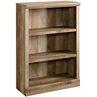 Sauder East Canyon 3 Shelf Bookcase in Craftsman Oak