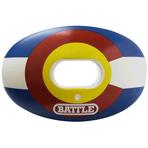 Battle Oxygen Lip Protector Mouthguard (Colorado Flag, One Size)