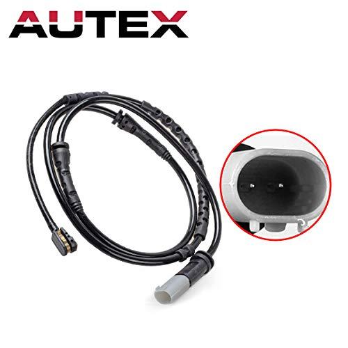 AUTEX Brake Pad Wear Sensor Front 34356791958 compatible with BMW 750Li & 750i & 760Li & 535i & 528i & 535i xDrive & 550i & 740i & 750Li xDrive & Alpina B7 & Alpina B7 xDrive 2011 2012 2013 2014