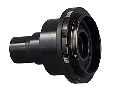 Mikroskop adapter für canon d slr mit 2 x lens omax: amazon.de: alle