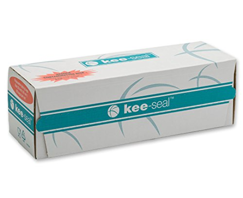 DecoPac Kee-Seal Disposable Pastry Bags, 25-Inch, Clear by DecoPac