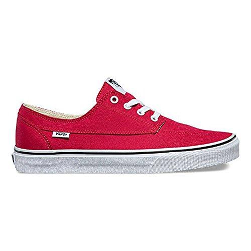 Vans Brigata (canvas) Crimson Rood-mens Grootte 12