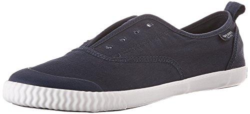 Sperry Top-sider Womens Sayel Clew Lavato Sneaker Di Tela Blu Scuro