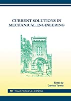 Current Solutions in Mechanical Engineering Front Cover