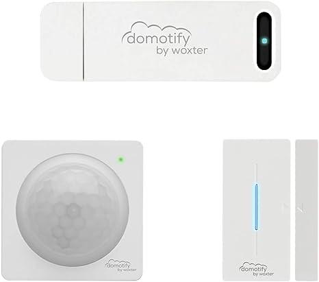 DOMOTIFY Security Kit. Dispositivos de domótica inalámbrica. (Gateway, Sensor de Movimiento y Sensor de Puertas/Ventanas): Amazon.es: Bricolaje y herramientas