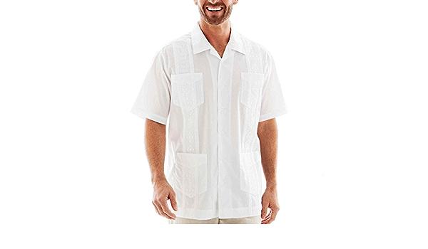 HAVENERA La camisa de Guayabera Havanera Co. : Amazon.es: Ropa