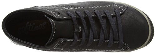 Softinos Isleen Smooth, Sneaker Donna Black (Black)