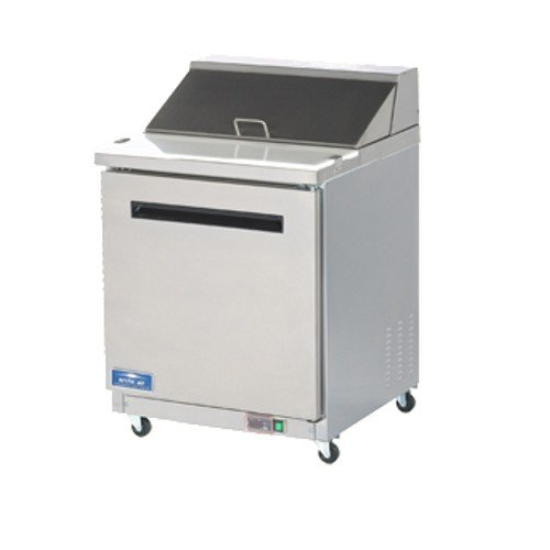 Arctic Air AMT28R 28'' 1 Door Mega Top Refrigerated Sandwich Prep Table by Arctic Air (Image #1)
