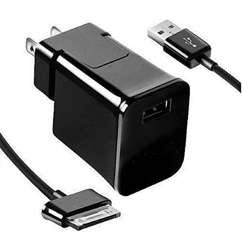 Samsung Galaxy tab 2 Charger,Home Wall Charger + USB Cable Made for Samsung Galaxy tab 2 10.1 9 8 7 inch Table (Black) (Samsung Galaxy Tab 2 7 Inch Charger)