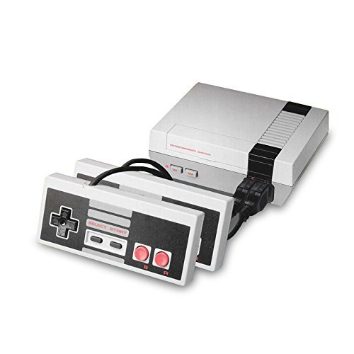 (Third Party NES Classic Mini CLONE System Console with 500 games - 2 Controllers - Power Adapter and A/V Cable in Retail Box - NTSC /)