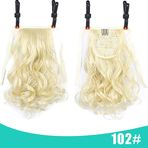 Ponytail Short Curly Hair Natural Clip In Hair Extensions Heat Resistant Hairpiece,P4 / 30,12inches -