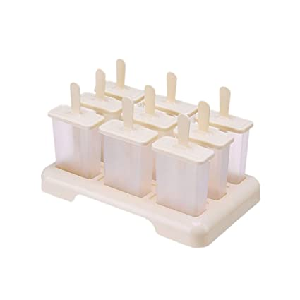 CHANG-dq Moldes para helados, moldes para paletas de hielo ...