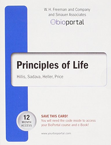 Bioportal for Principlesof Life (12-Month Access Card)