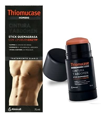 Amazon.com: NEW THIOMUCASE MEN STICK BELLY & ABDOMINAL 75ml ...
