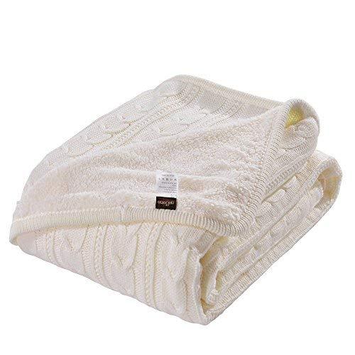 Luxury Quality Fluffy Sherpa Knit Throw Blanket 47