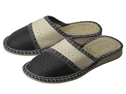 aveego - Zapatillas de estar por casa de Otra Piel para mujer Grey (74A)