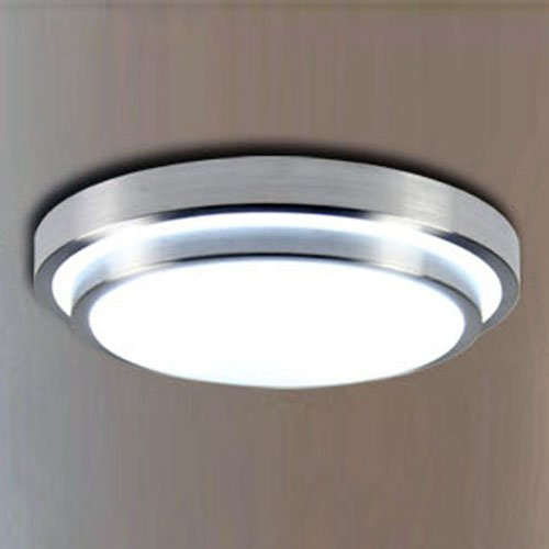 Lightinthebox modern creative led flush mount light aluminum acrylic electroplating modern home ceiling light fixture flush mount pendant light