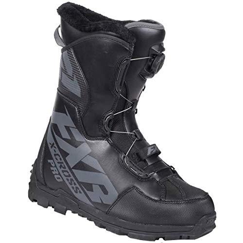 FXR Racing XCROSS Pro Boa Snow Boot '19 Black Ops Mens 11/EU45