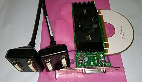 41tv%2Bv67 sL - Dell/nVidia Quadro NVS 420 NVS420 512MB 4 Quad Monitor Professional Video Card P/N: H995J
