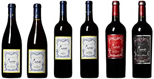 Cupcake Vineyards Delicious Red Wine Mixed Pack, 6 x 750ml