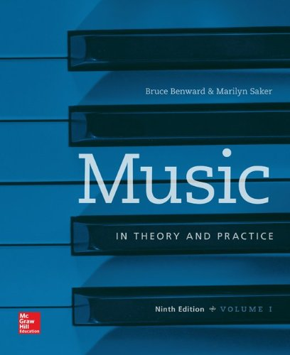- Music in Theory and Practice, Vol. 1 with Workbook