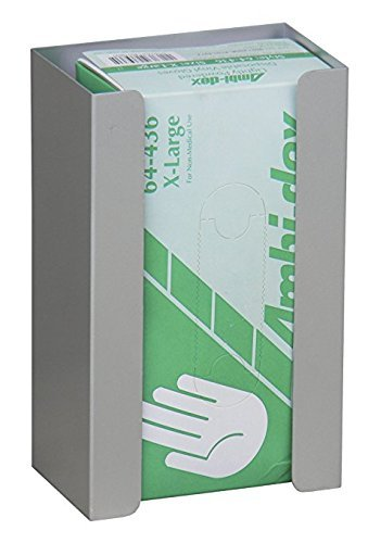 Single Aluminum Glove Box Holder/Dispenser