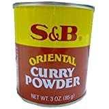 S&B Curry Powder, Oriental, 3 oz (85 g)