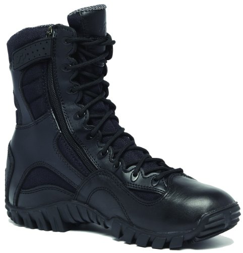 Tactical Research TR 960Z Black Khyber side zipper Tactical boot-12-W