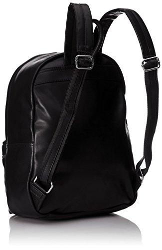 cuir sac unisexe Nero en cuir 100 dos Italie en Fabriqué à Noir CTM véritable 30x39x14cm ZWgBZ