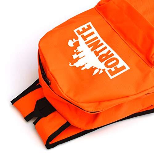 Desconocido Mochila Fortnite. Logo Fluorescente. Color Naranja.: Amazon.es: Electrónica