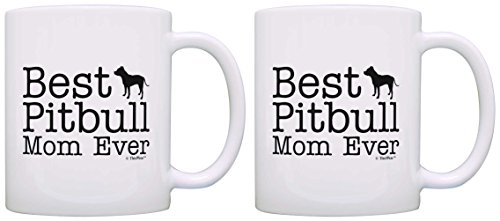 Lover Gifts Pitbull Supplies Coffee