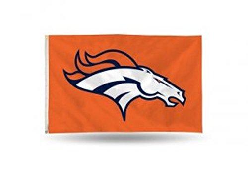 NFL Denver Broncos Banner Flag 3-Foot by -