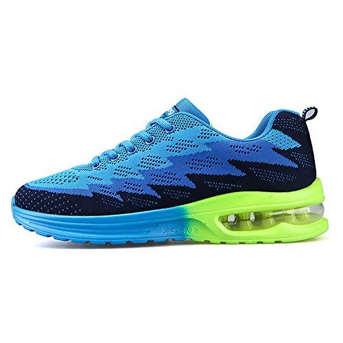 Sneakers c Blue Shoes Lightweight Flat Men's 09 Shoes Walking excellent 8EU6RW6