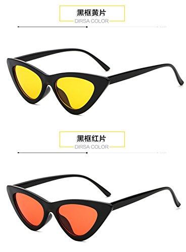Vintage Plage Soleil Lentille Eye Lunettes Des Soleil Lunettes de Retro Sunglasses C5 de de Plastique Style Cat Mod Chat Voyage Yeux CqC1UxXw