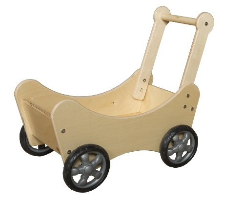 Wood Designs WD11700 Doll Carriage by Wood Designs