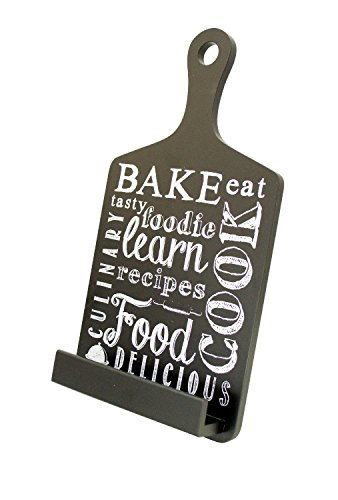 Recipe Holder - Tablet Holder and Cookbook Stand, Bake Design, By Boston Warehouse