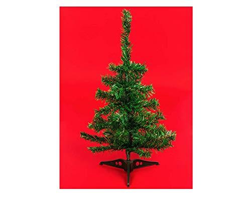 (2 Mini Christmas Tree Decoration Decorations. Table Top Counter Desk Christmas Tree. Small Christmas Tree Winter Decor 18ins.)