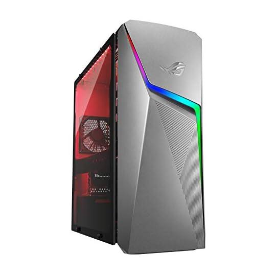 ROG Strix GL10DH Gaming Desktop PC, AMD Ryzen 5 3400G, GeForce GTX 1650, 8GB DDR4 RAM, 512GB PCIe SSD, Wi-Fi 5, Windows…
